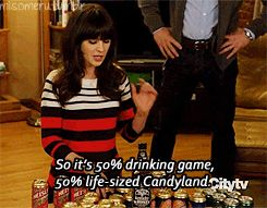 LOVE New Girl...i want to try to play this drinking game!