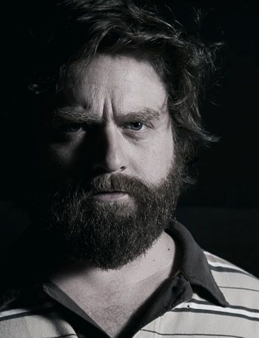 Zach Galifianakis (see his website http://zachgalifianakis.com/)