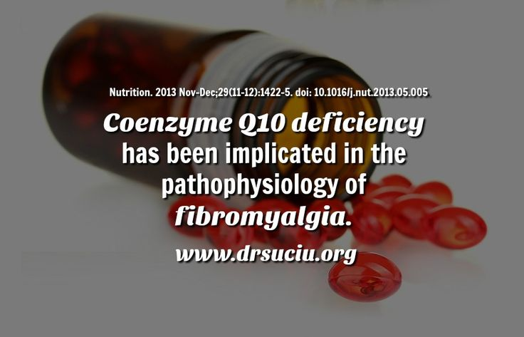 Picture drsuciu Coenzyme Q10 deficiency in fibromyalgia