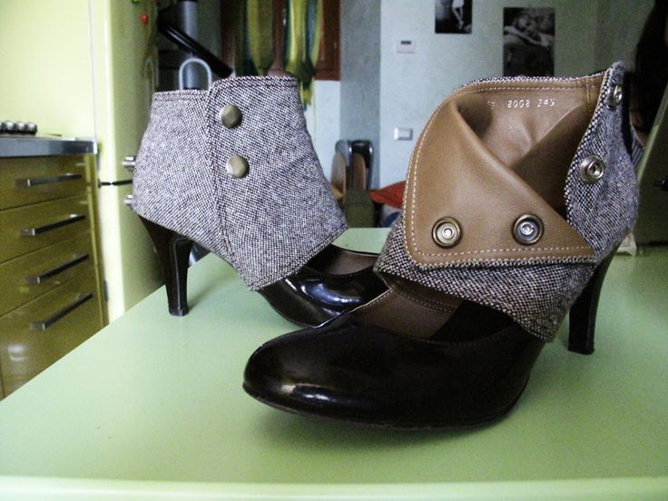 Isabella's Shoes with Spats by Juliet Juliet