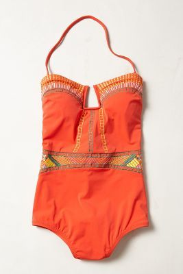 Nanette Lepore Riviera Goddess Maillot #LOVE (inspiration for baby weight loss by summer!)