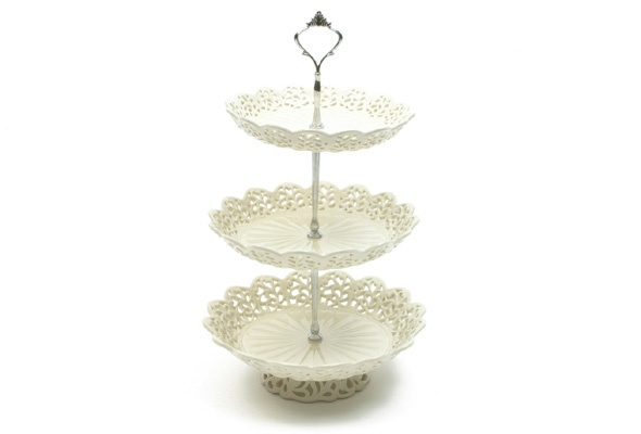 Casa Domani Chantilly  Tiered Cake Stand