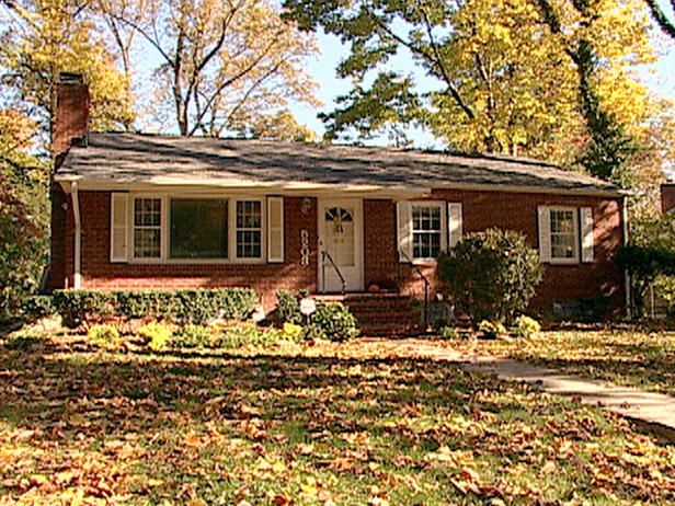 brick ranch house landscaping | ... ranch house to find a home that better accommodates their growing