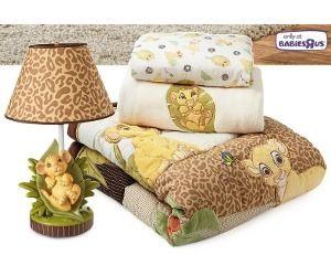 Lion King Nursery set! Why didn't I have this as a baby....
