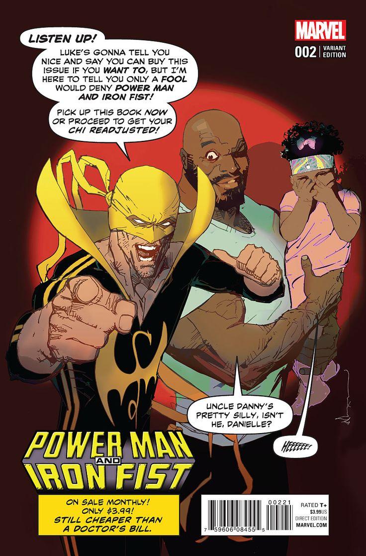 Powerman and iron fist ad bill sienkiewicz 2016