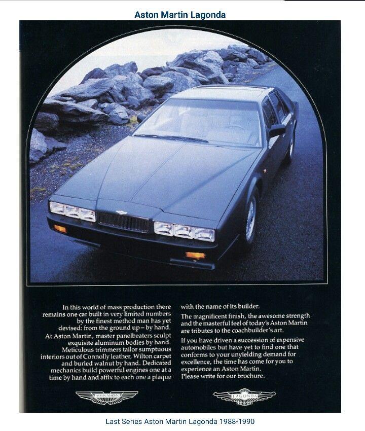 1988   1990 Aston Martin Lagonda