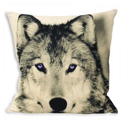 dwell - Wolf cushion - £34.95