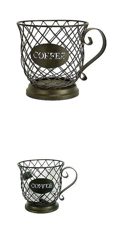 Racks and Holders 46283: Coffee Pod Storage K Cup Holder Rack Cups Keurig Organizer Mug Espresso Kitchen. -> BUY IT NOW ONLY: $39.22 on eBay!
