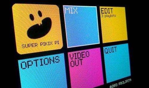Super Pikix Pi, un software para mezclar vídeos en la Raspberry Pi - Raspberry Pi