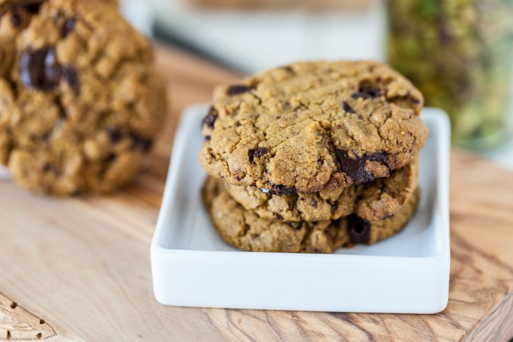Pistachio Butter Chocolate Chunk Cookies Allergen Information: Free of ...