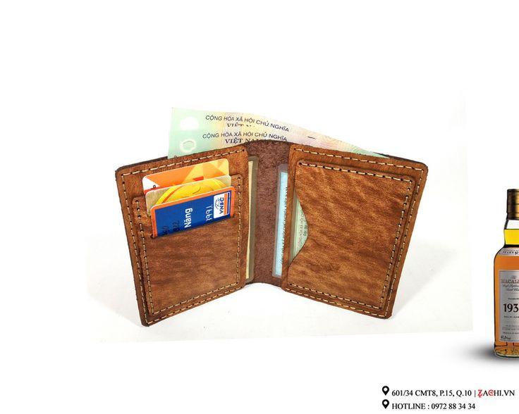 Zachi VN02D - Ví nam handmade da thật cao cấp – Zachi Handmade Leather
