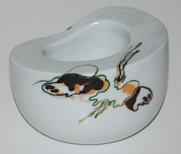 Bente Hansen, porcelain, Royal Copenhagen, unique item.