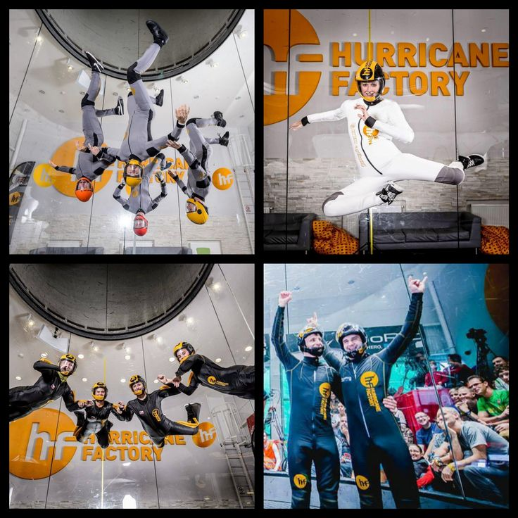 Say Hi to our proflyers from Prague !  www.hurricanefactory.com #freestyle #D2W #RW #VFS #tunnelflying #indoorskydiving #professionals #competition #hurricanefactory #Madrid #Berlin #Prague #Tatralandia #bestflyers