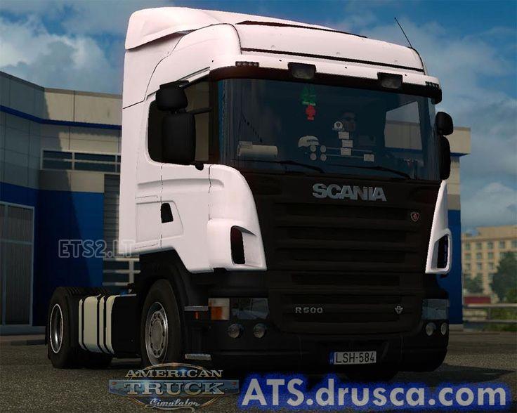 Scania r500 v8