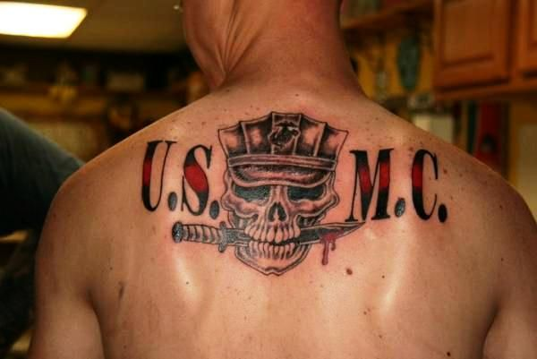 25 best ideas about usmc tattoos on pinterest marine corps tattoos marine tattoo and marine. Black Bedroom Furniture Sets. Home Design Ideas