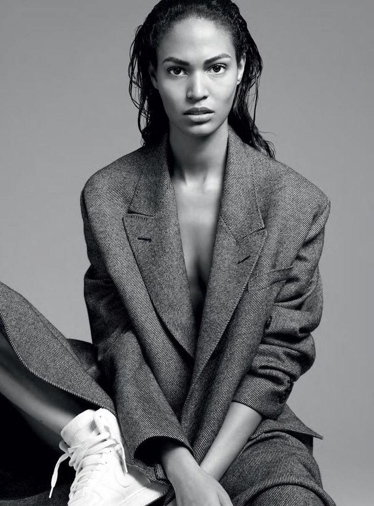 "afvandevorst:  ""Joan Smalls In Big Coats"" Joan Smalls shot by Karim Sadli for The Last Magazine FW 2011"