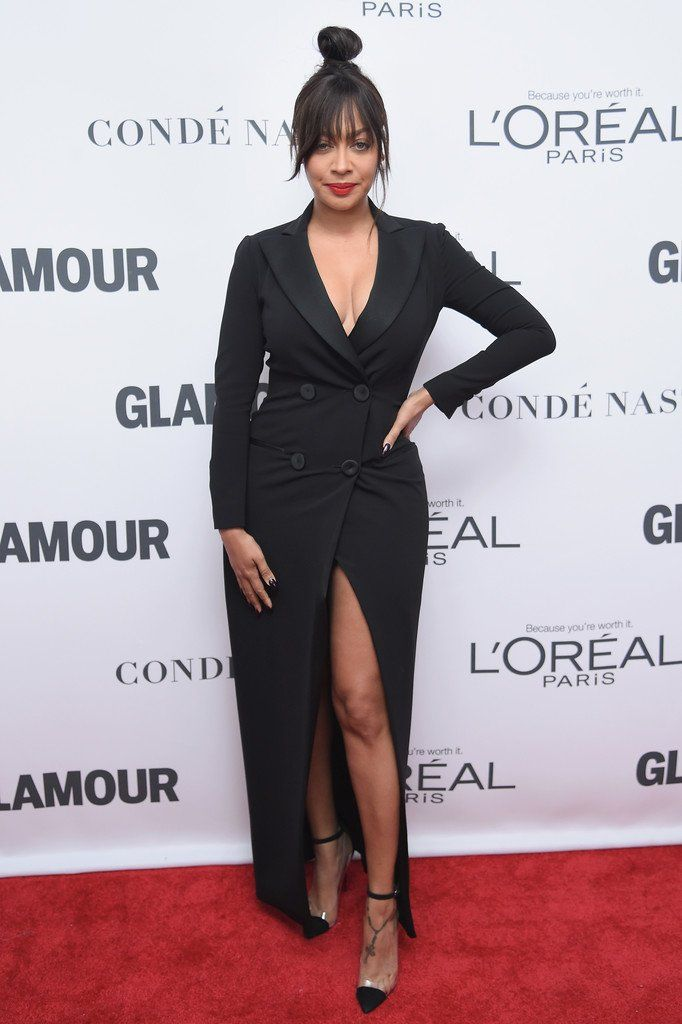 La La Anthony in Moschino at the 2017 Glamour Women of the Year Awards