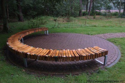 use your random scraps of lumber to make a bench!
