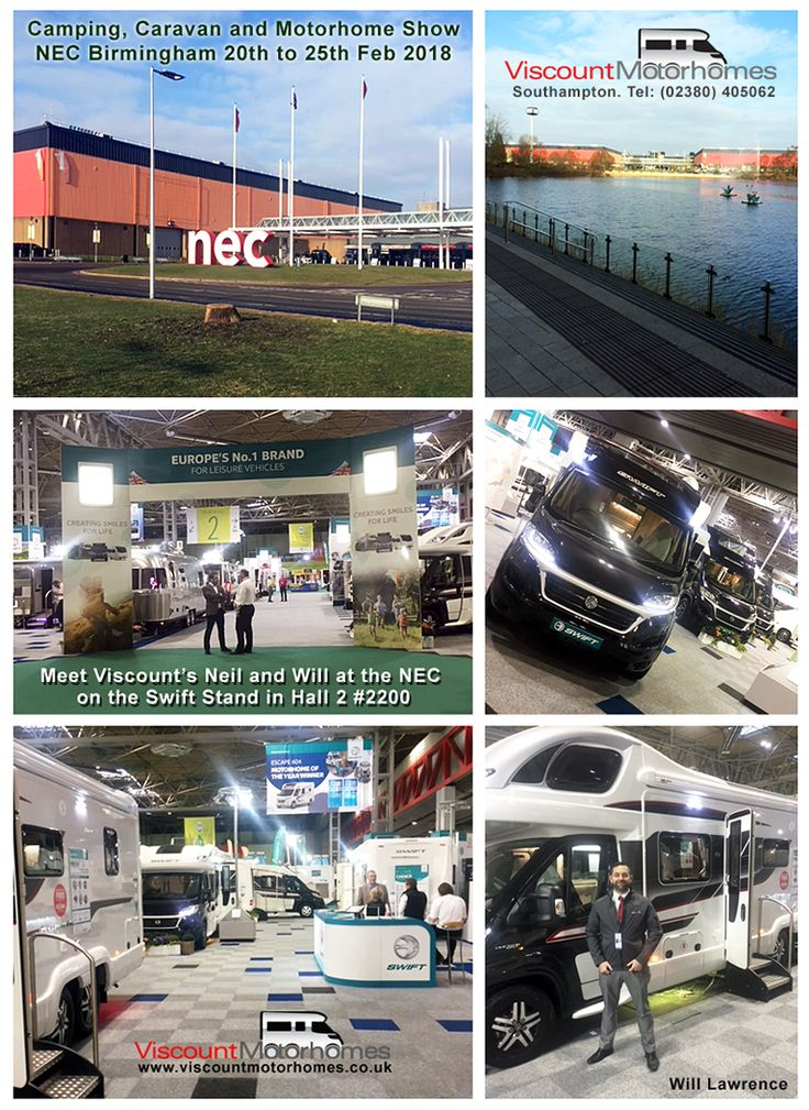 Our thanks to everyone who visited the #Swift stand and said hello to Viscount #Motorhomes very own Neil and Will at the #NEC #Birmingham #Caravan #Camping and #Motorhome Show last week. Hope to see you again soon.