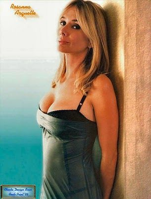 Rosanna Arquette...another one of my celeb look alikes haha