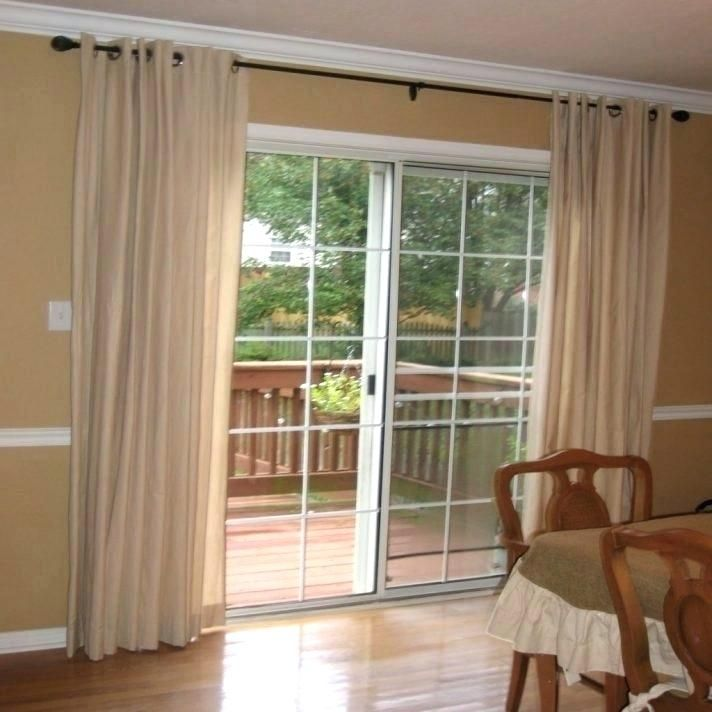Overwhelming Drapes Sliding Glass Doors Door Curtains Inside Panel