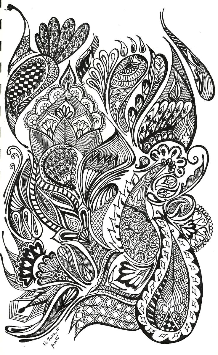100 best colouring paisley designs images on pinterest