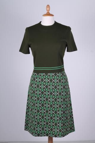 Jersey sommerkjole 1960. M. Vintage Divine