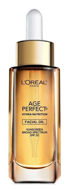 Age Perfect Hydra Nutrition SPF 30 Oil combines the hydrating power of 8 essential oils with SPF 30 to moisturize skin. Lightweight and non-greasy, this facial oil nourishes aging skin back to radiance.<br><br>• 8 essential oils, and Broad Spectrum SPF 30 sunscreen<br>• Lightweight, non-greasy facial oil absorbs quickly to instantly moisturize, nourish and strengthen mature skin<br>• Skin is deeply nourished with moisture and soft with a radiant, healthy glow.<br><br>Every mor...