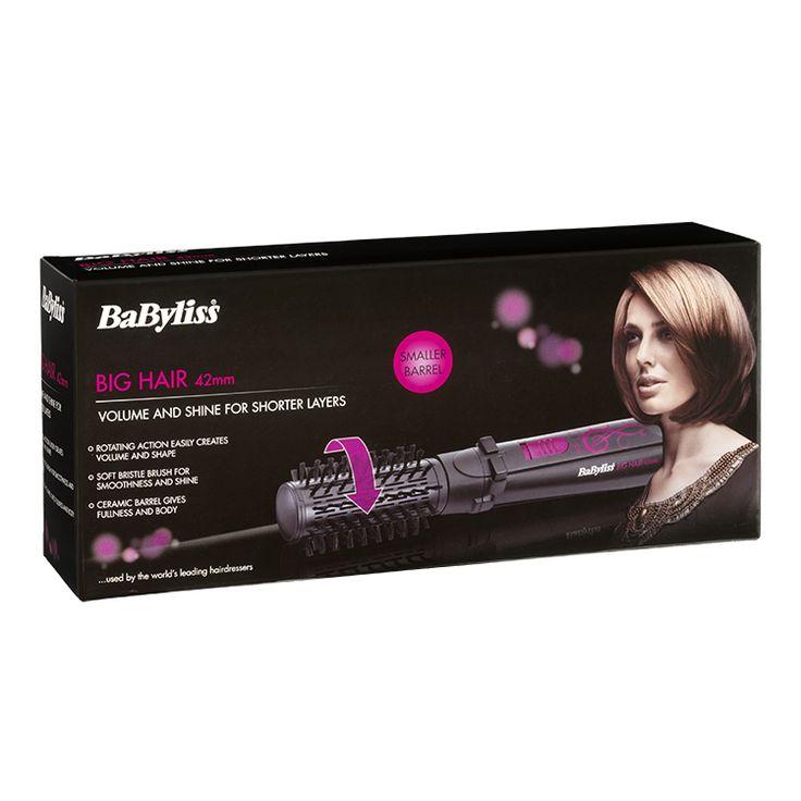 BaByliss Big Hair 42mm Spinning Hot Air Styling Brush 2777U