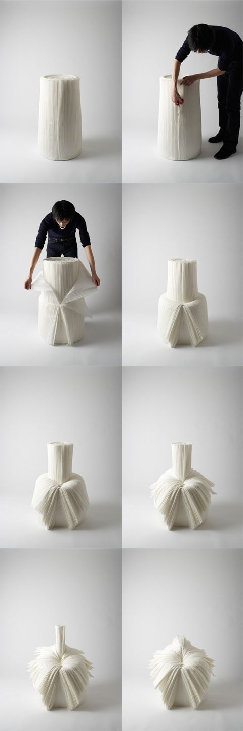 Cabbage chair by Nendo, Japan