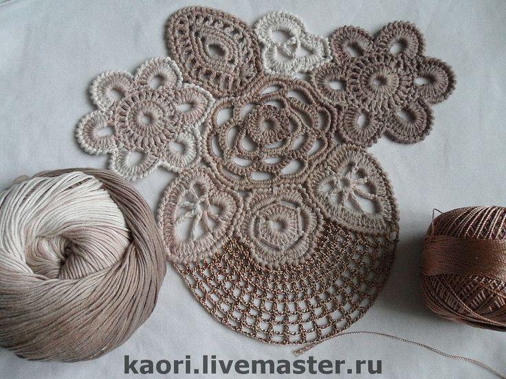 freeform Irish crochet