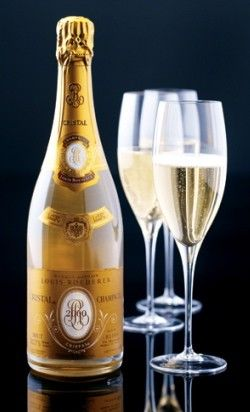 Cristal French Champagne. Live lusciously with LUSCIOUS: www.myLusciousLife.com