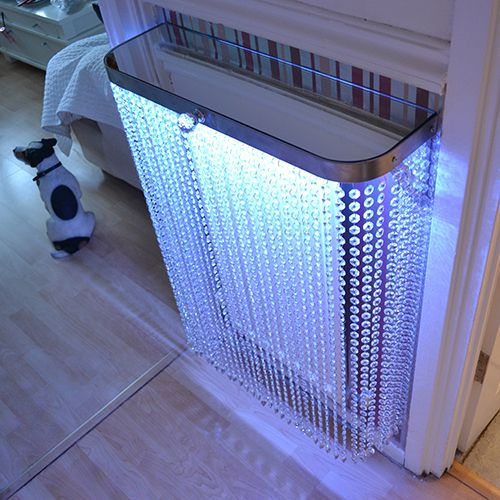 A YOYO Crystal console table, this time covering a radiator in a customer house in Poplar