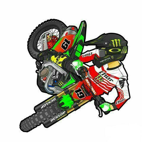 210 best Dirt Bikes Cartoon Art images on Pinterest | Dirt bikes, Dirt biking and Motocross