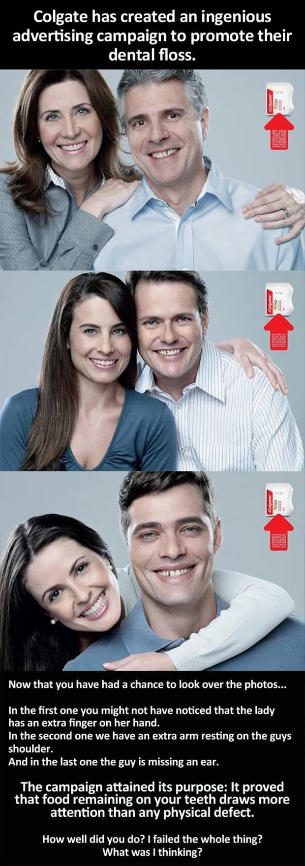 Well played Colgate