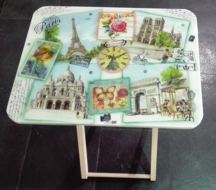 Mesas plegables Vintage