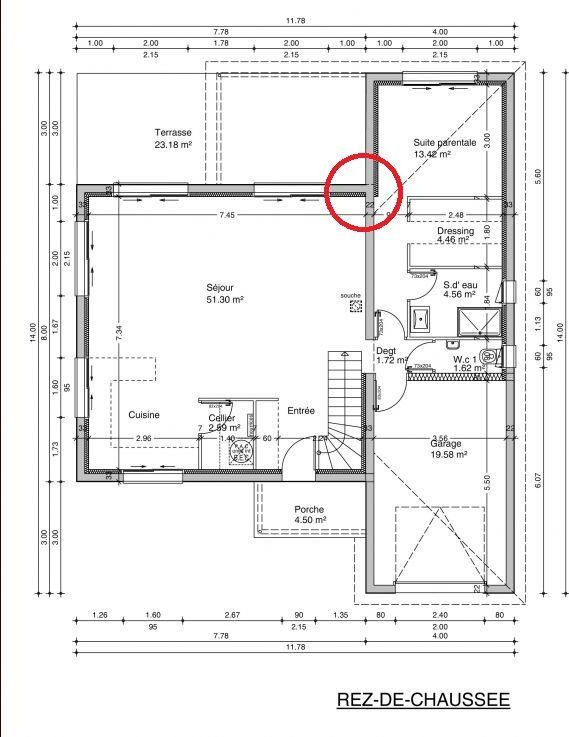 Les 25 meilleures id es de la cat gorie plan maison 120m2 for Plan de ma maison