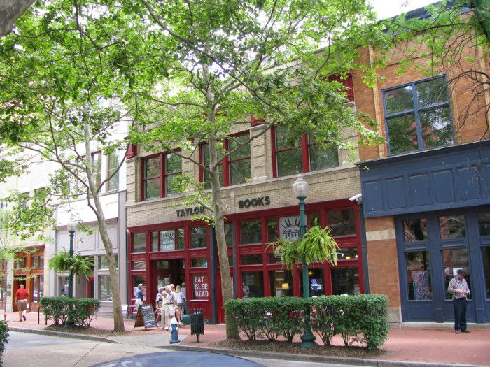 1) Taylor Books, located on the historic Capitol Street in downtown Charleston, is a perfect little coffee shop and bookstore. Grab a cup of their coffee or a draft beer and listen to a local band play!                                                                                                                                                                                 More