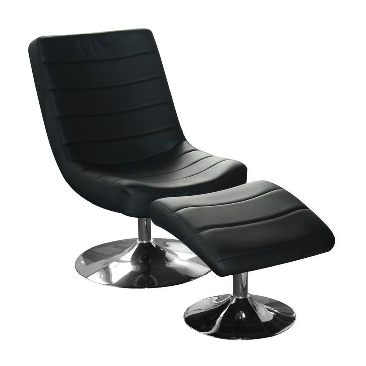 Vegas Easy Chair with Stool  As the name suggests, the perfect place to de-stress and take it easy.  Available in black or white faux leather.  Chair Dimensions: W535mm x D780mm x H850 Stool Dimensions: W430mm x D485mm x H420