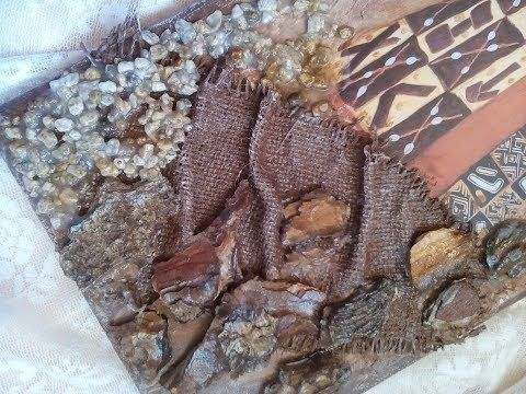 Φυσικά υλικά σε καμβά! Natural materials on canvas! - YouTube