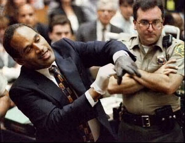 """If it doesn't fit, you must acquit."" Well, maybe not. A prosecutor in the O.J. Simpson murder trial said this week that he believes defense attorney Johnnie L. Cochran Jr. tampered with the famous ""bloody glove"" that was a key piece of evidence in the football star's acquittal."