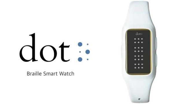 Dot este primul smartwatch în limba braille