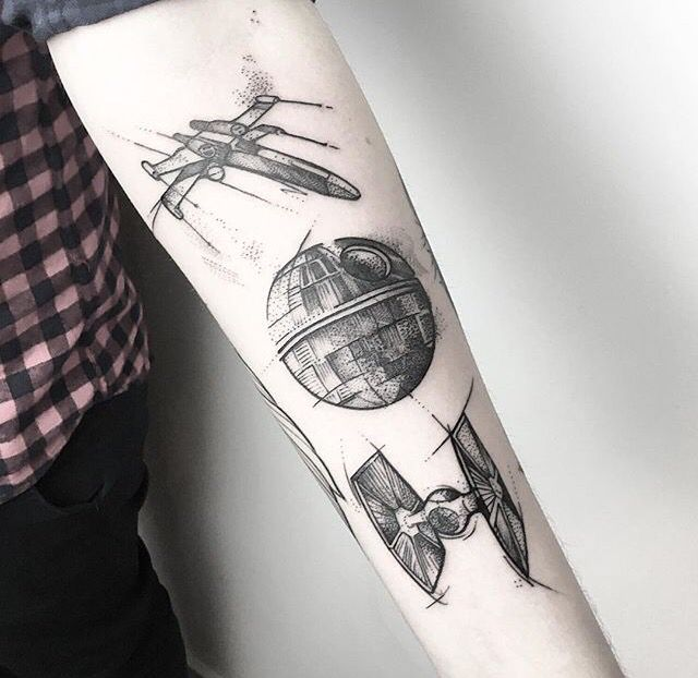 Gamer Tattoos, Death Star