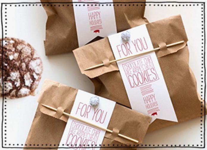 cadeau koekjes bakken