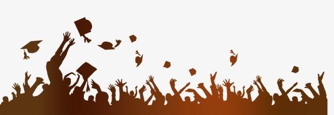 Sketch Silhouette Png Gold Graduation Graduation