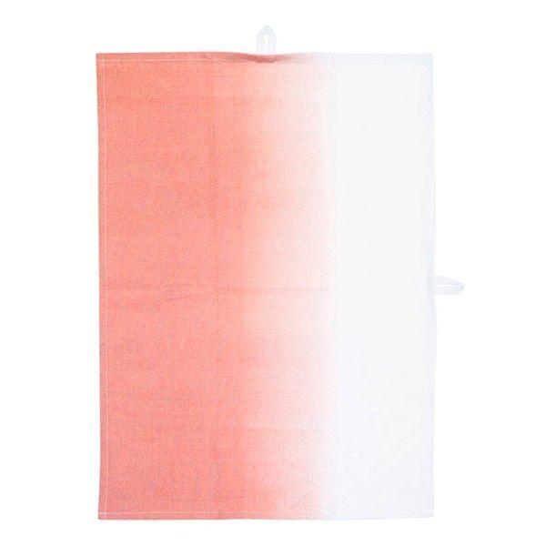 vtwonen Dip Dye Theedoek 50 x 70 cm - Roze