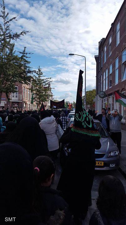 Ashura Procession - The Hague Netherlsands  (10 Muharram 1438 / 2016 - The Hague Netherlsands)  Photography: Hijab Zainabi  Shia Multimedia Team - SMT http://ift.tt/1L35z55