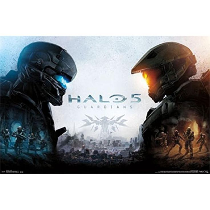 Halo 5 - Key Art 22x34 Standard Wall Art Poster