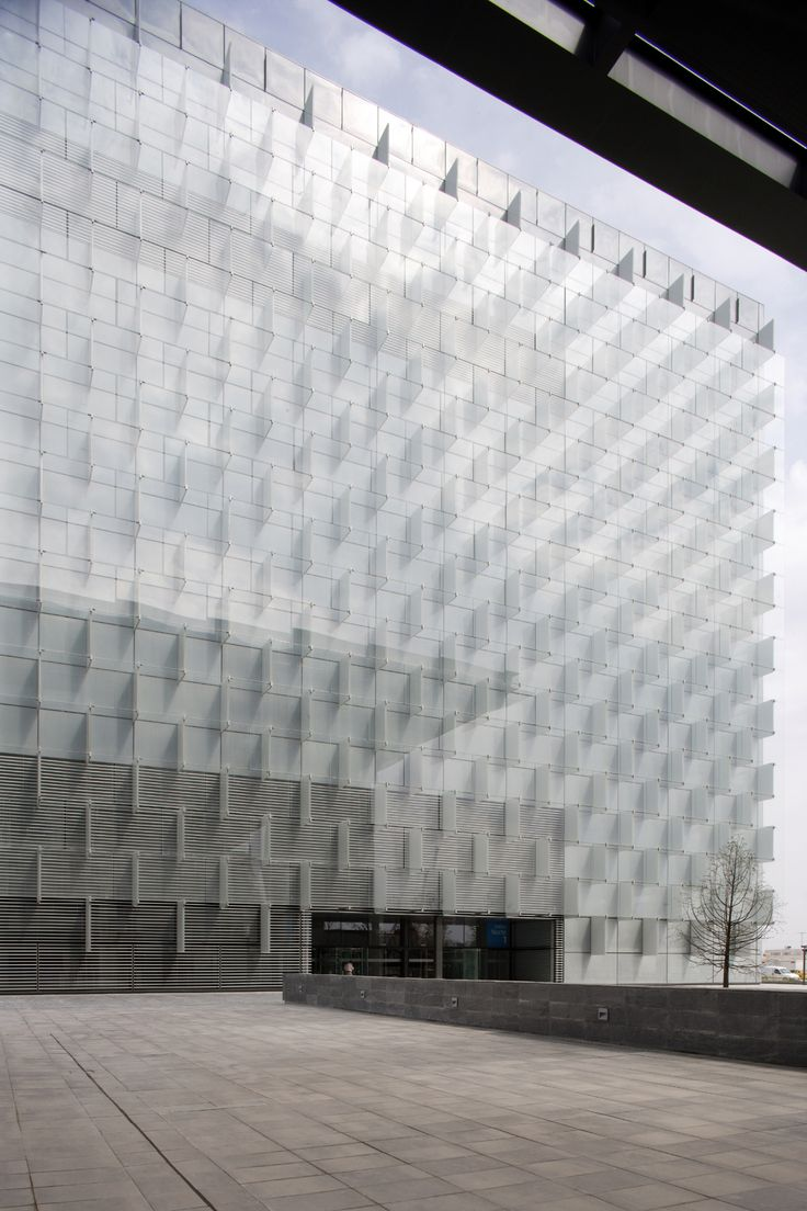 Telefonica Headquarters in Madrid by Rafael de La-Hoz