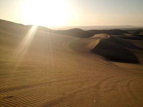 Huacachina - Sand, sand and some more sand..